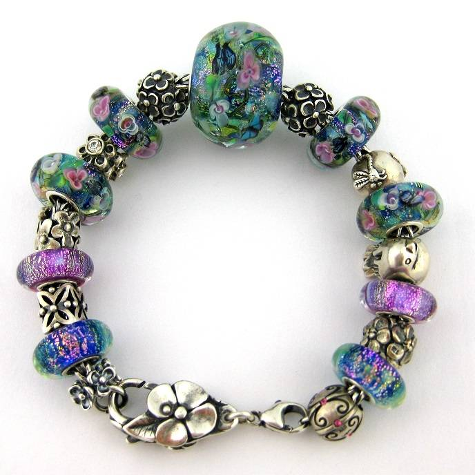 """Monet's Water Lilies"" bracelet ReIMG_5278d_zps5bd55319"