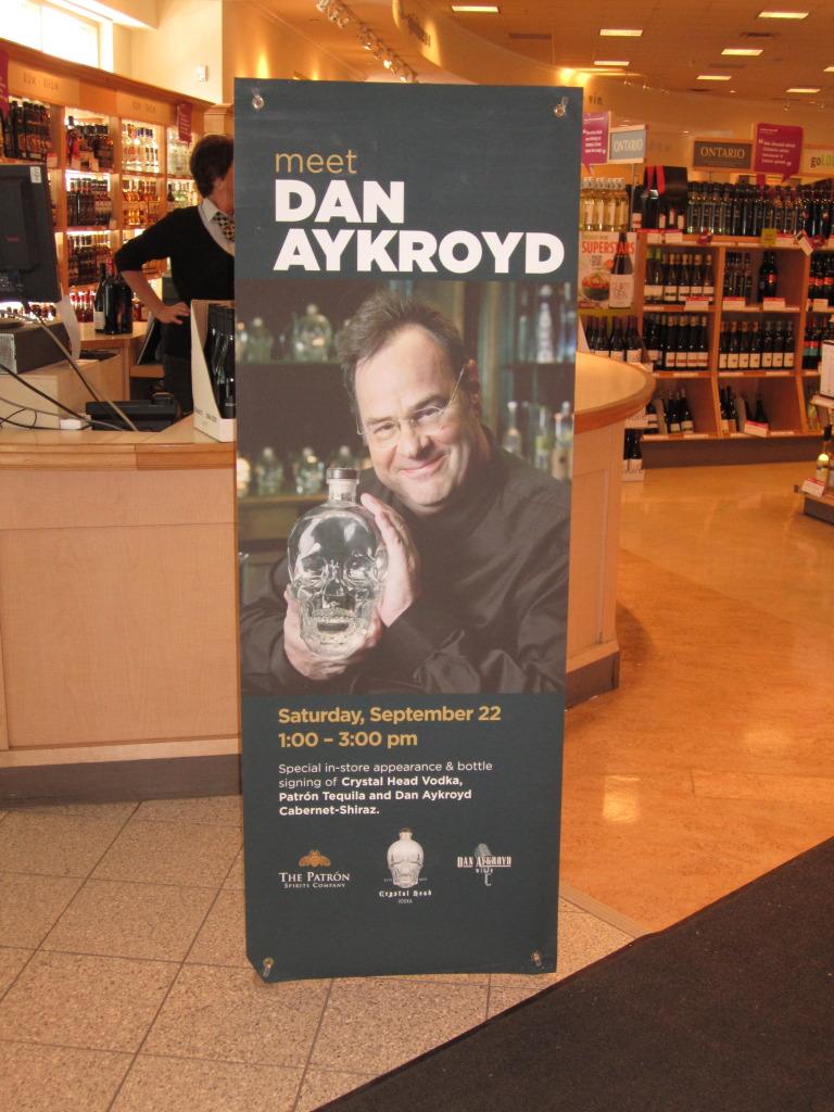 Dan Aykroyd vodka siganture  le 22 Septembre A Ottawa  IMG_7355_zps10936289