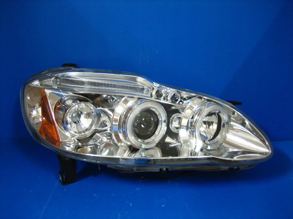 LED taillamp for cars and van.. 01-COROLLA-C-PROJECTOR