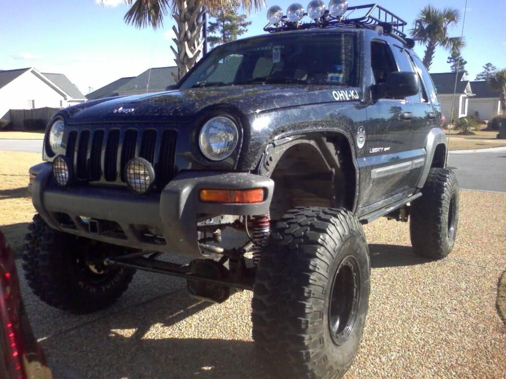 ...e io che pensavo di avere la jeep rialzata... Kjlongarms35s017