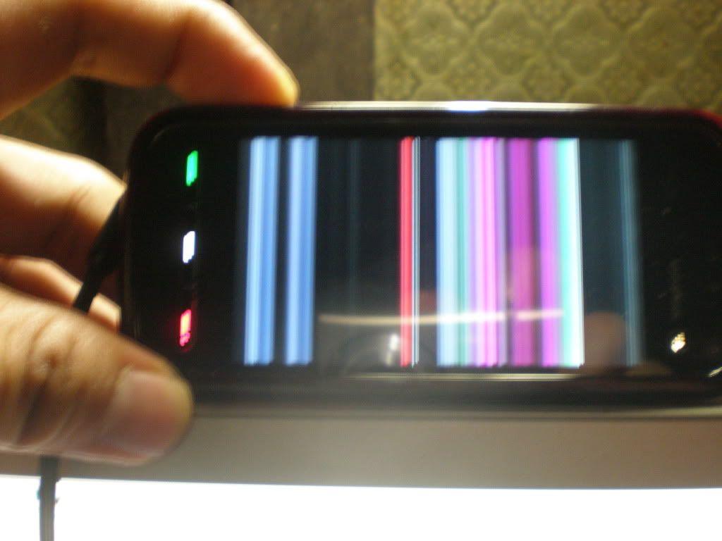 Nokia 5800 Defective Display P7300128