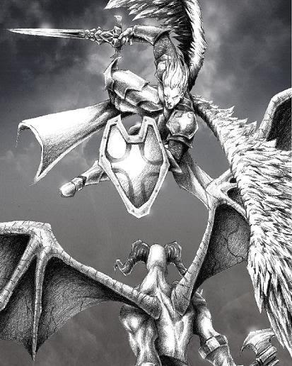 Angels vs demons Angelvsdemon