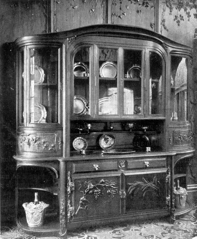 Mobilier a l'Exposition Universelle Paris 1900 Aed_1900_08_33_02