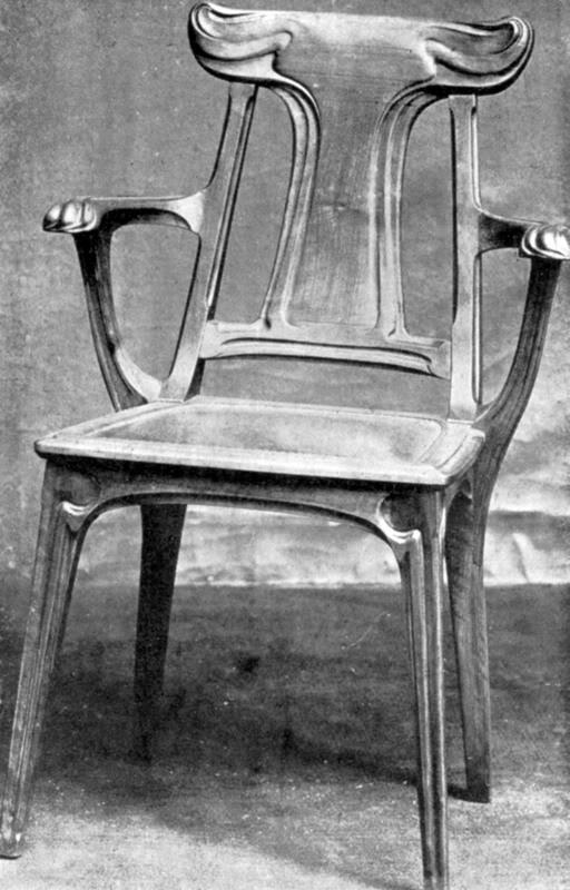 Mobilier a l'Exposition Universelle Paris 1900 Aed_1900_08_45_01