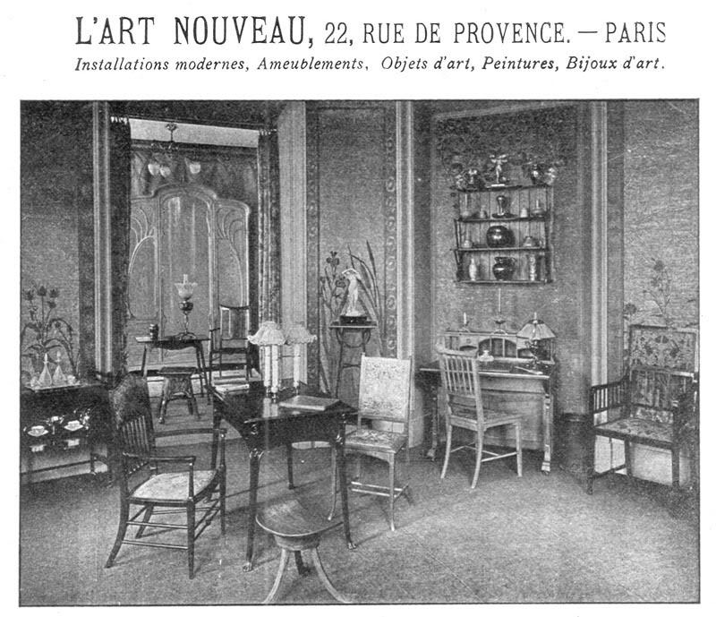 La maison de l'Art Nouveau - Maison Bing - Paris 1895 - 1905 Bing_02