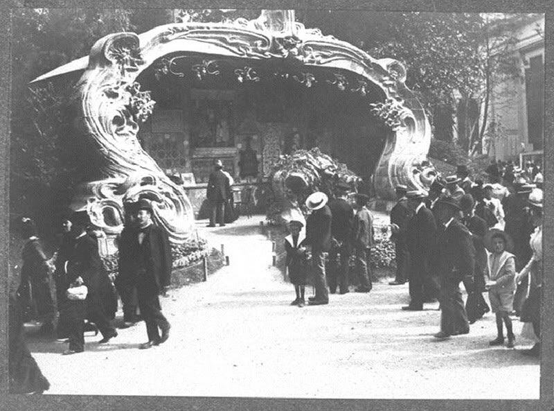 Georges de Feure Le Pavillion de l'Art Nouveau Bing - Exposition Universelle Paris 1900 Fontaine_01