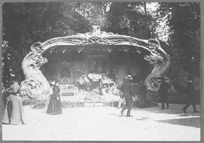 Georges de Feure Le Pavillion de l'Art Nouveau Bing - Exposition Universelle Paris 1900 Fontaine_02