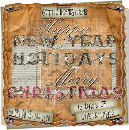 10th Day Of Christmas ♥CU Freebie♥ by Gothic Inspirations GI_10thDayOfChristmas
