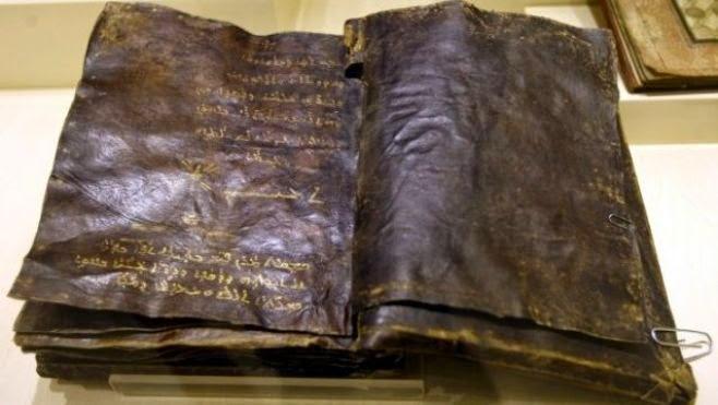 Mistérios Históricos e Ufologia Biacuteblia-Milenar-1500-anos-Turquia-Nega-crucificaccedilatildeo-de-Jesus-2