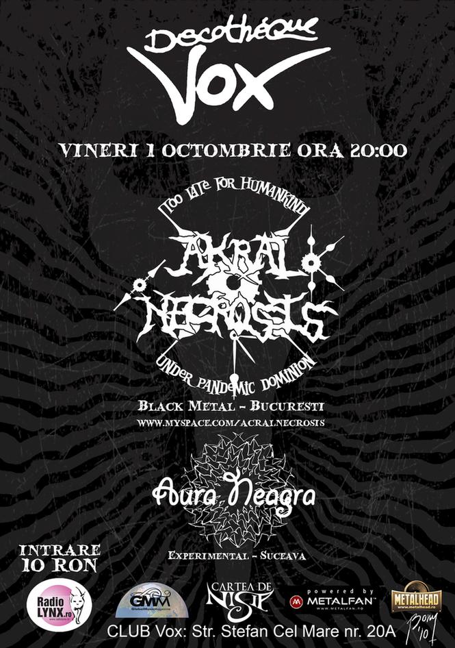 Akral Necrosis PosterAkralNecrosisSuceava