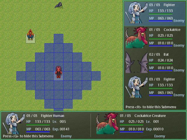 Sistema de batalla de TRPG Tactical_preview00