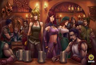 Drowned Sorrows The_Drowned_Sorrows_Tavern_by_reiq