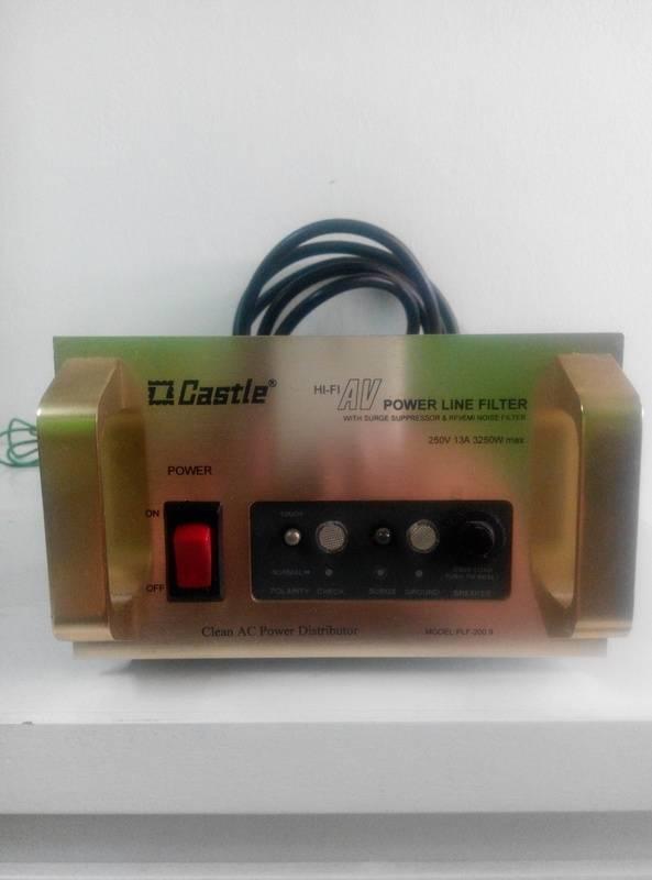 Castel AV Power Line Filter IMG_20150901_113340