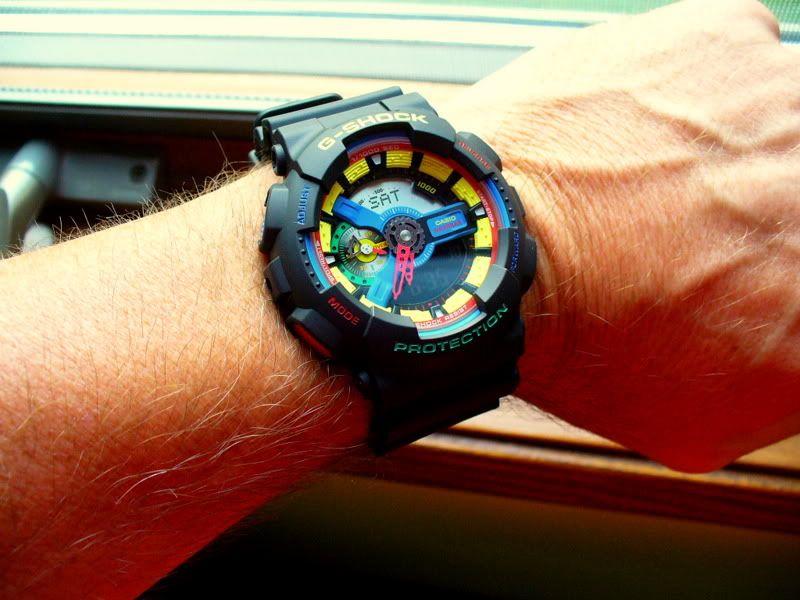Watch-U-Wearing 8/23/10 Gshock162
