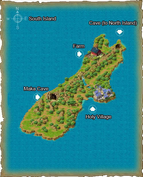 Từng bước mở rộng nhà South_island