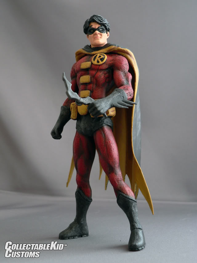 Collectable Kid™ Toy Design & Custom Figures ROBIN0