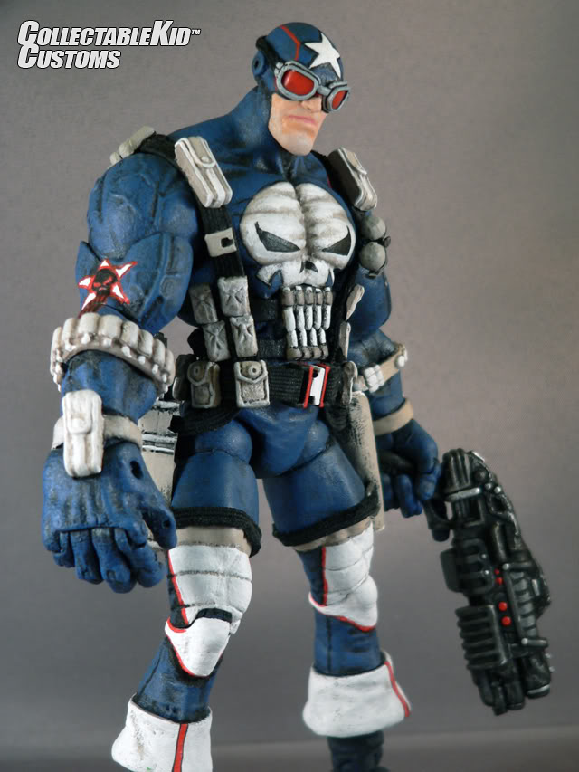 Collectable Kid™ Toy Design & Custom Figures PUNISHERCA0
