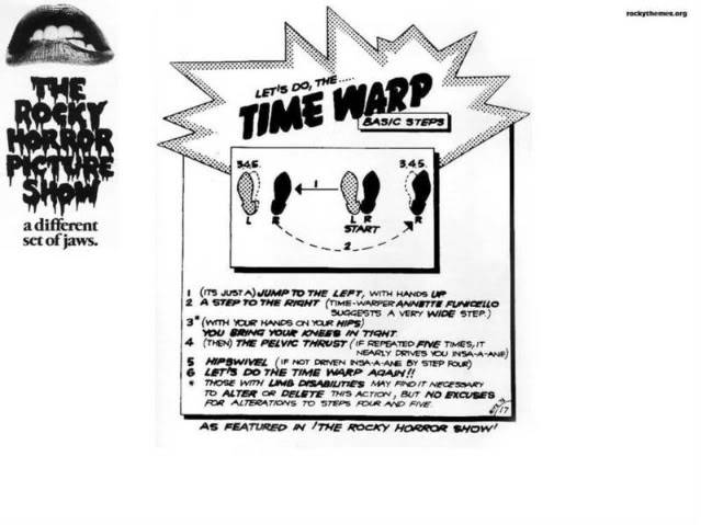 Rocky Horror Picture Show (R.H.P.S) TIMEWARPBACKROUND