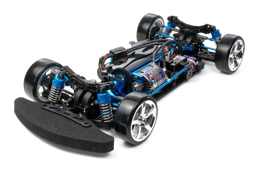 84205 TB03 VDS Chassis Kit 84205top