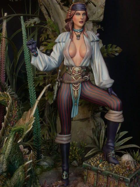 belle of tortuga resin kit 1/7 LunaticFrange - Page 7 DSCN4259