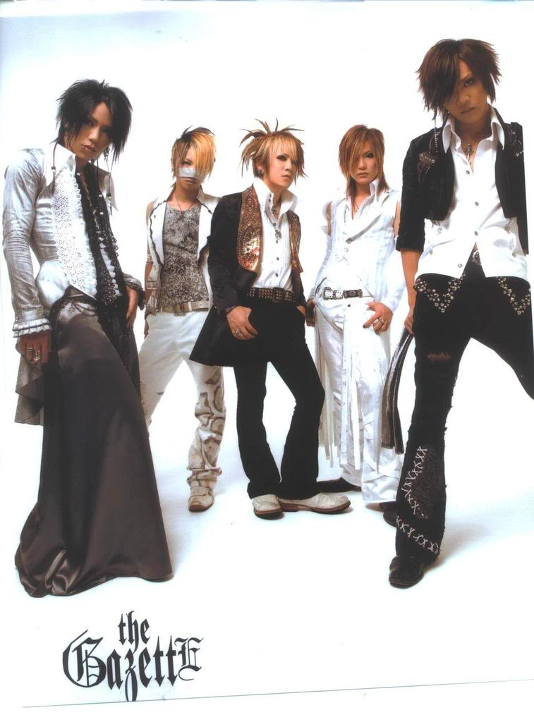 the GazettE Gazeto