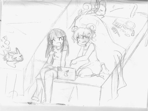 El viaje de Iruka: La aventura continua =P - Página 4 Pijama