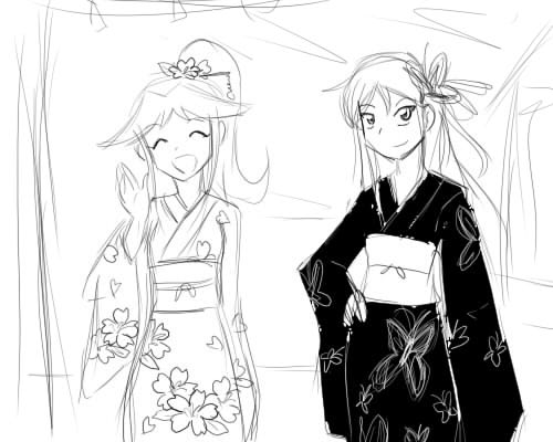 A New Beggining: Past Time - Página 2 Kimono