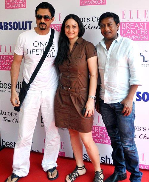 Shilpa Shetty, Gul Panag at breast cancer awareness campaign 15sd4