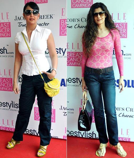 Shilpa Shetty, Gul Panag at breast cancer awareness campaign 15sd6
