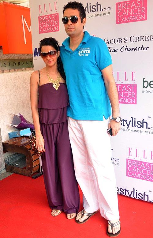 Shilpa Shetty, Gul Panag at breast cancer awareness campaign 15sd7