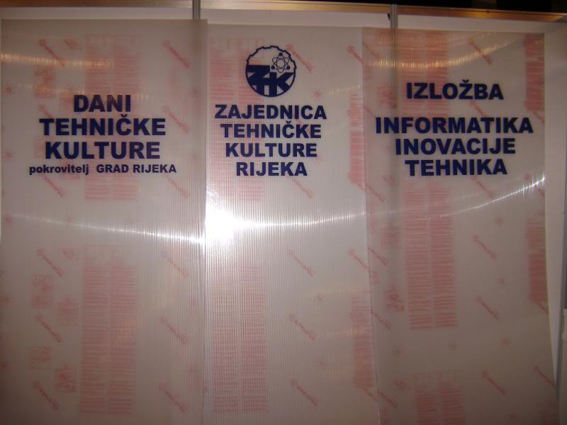 """Štacion na 9. godišnjoj izložbi """"Informatika, inovacije, tehnika"""" (ZTK Rijeka) DSC05081"""