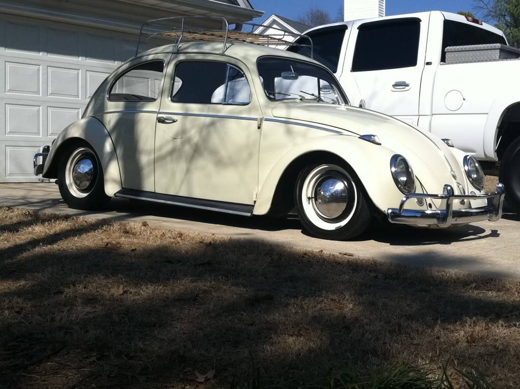 New VW owner, just moved from Loganville to Monroe 1962Bug