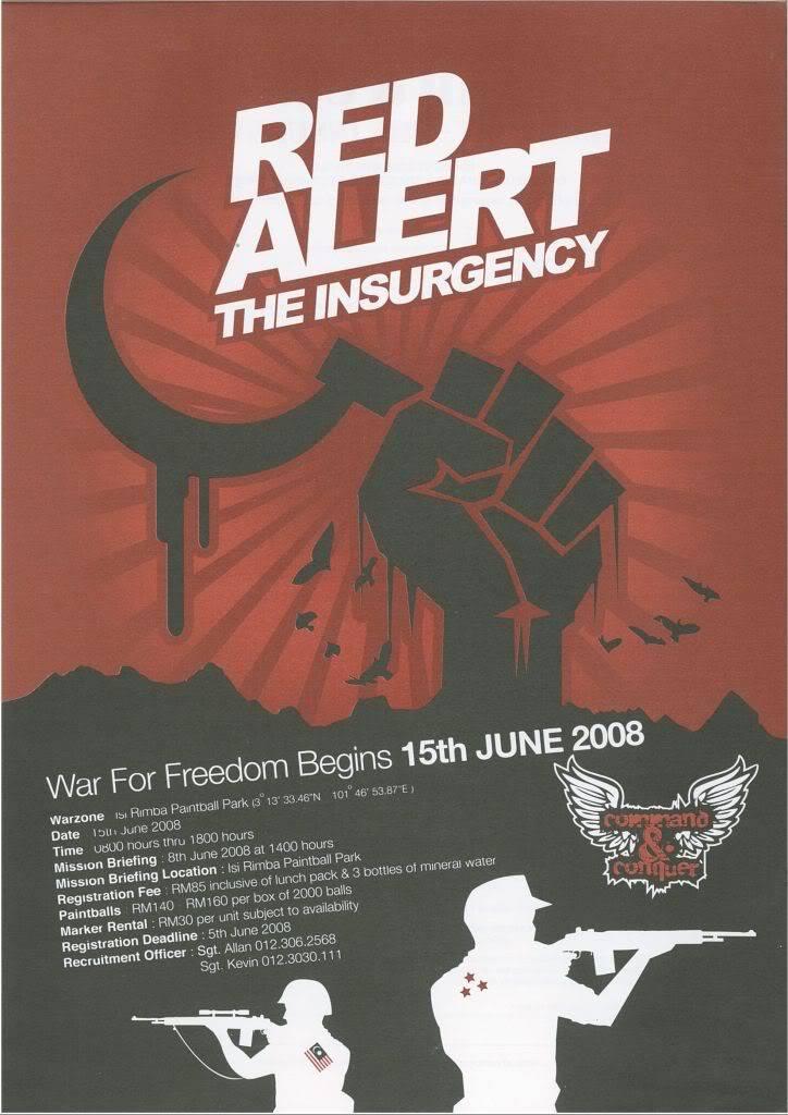 Command & Conqurer Red Alert the Insurgency footage by SgtKurtz /ex-XMM Gunner Paintball-0001