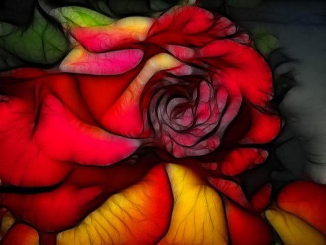 الورود أحلى ما في الوجود : بفن يشبه جماله الطبيعة حتى تكاد تشم روائحها...( صـــور )! Fl7