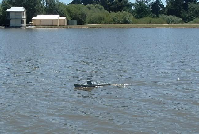 First sail at Lake wendouree. LW6