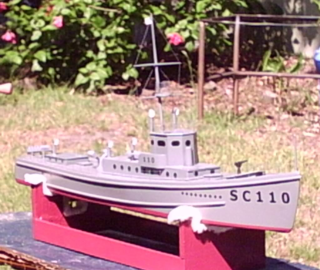 WW1 Sub Chaser from a 1956 plan S4