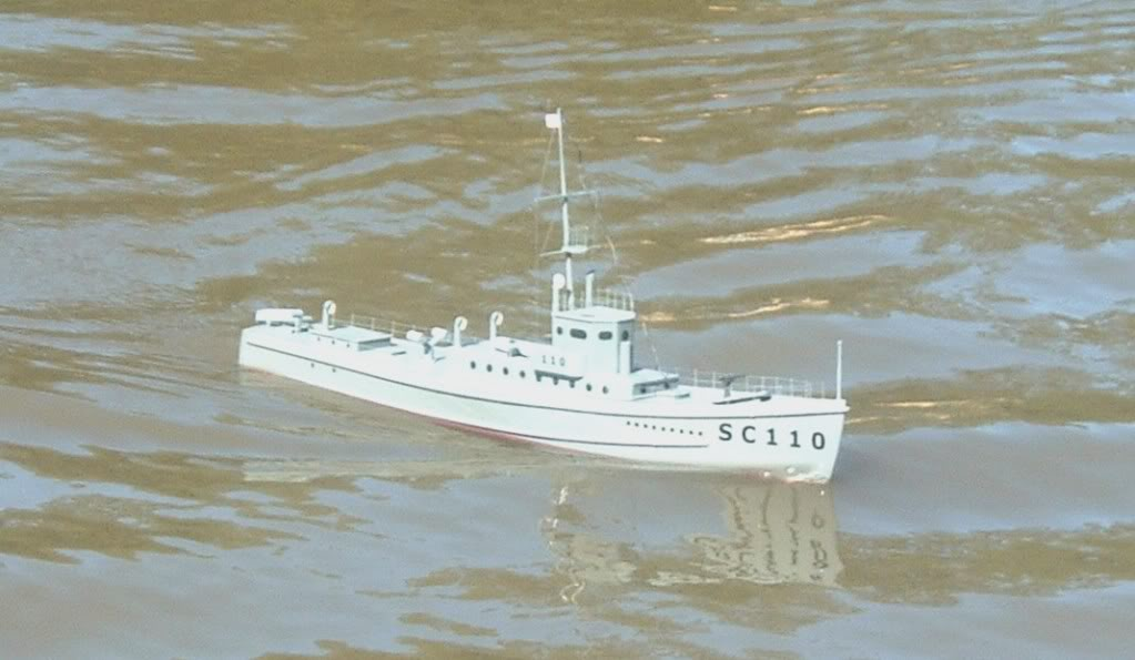 WW1 Sub Chaser from a 1956 plan Sc1-1