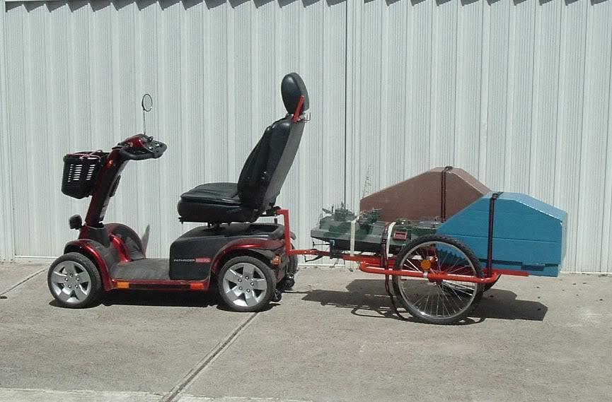 Transport of models Scooter1