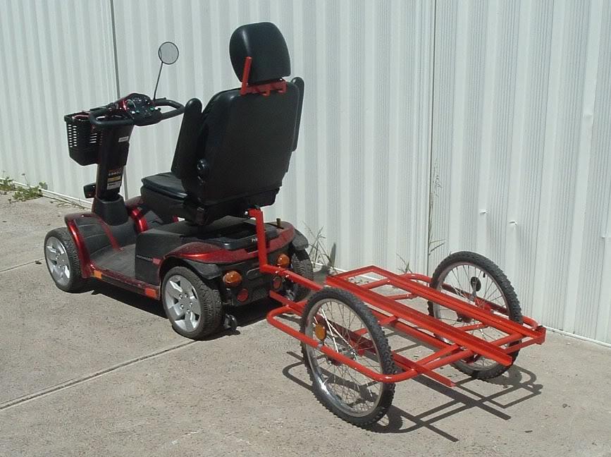 Transport of models Scooter2