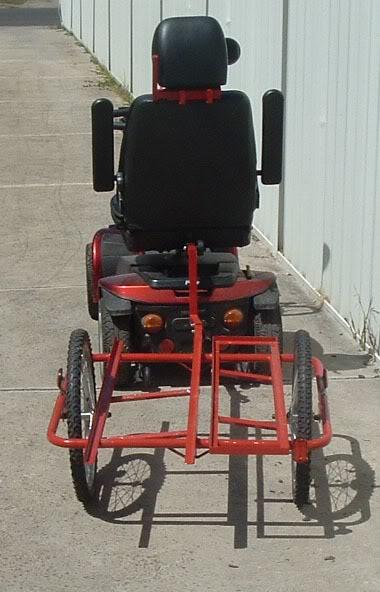 Transport of models Scooter3