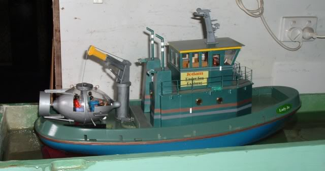 My Seaport Hull conversion. Tug6