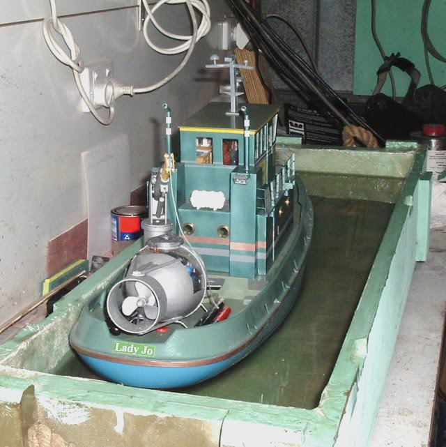 My Seaport Hull conversion. Tug7