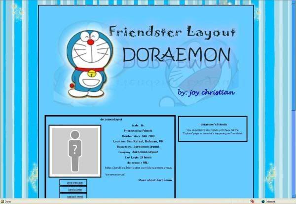 doraemon layout Psc
