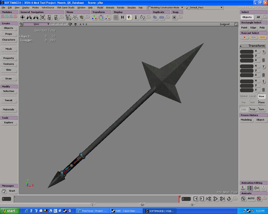 New Weapon - Pike Pike