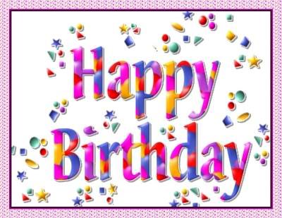 Bonn fèt pou forum lan Happy-birthday