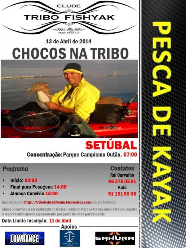 CHOCOS NA TRIBO 2014 Cartazchocos3