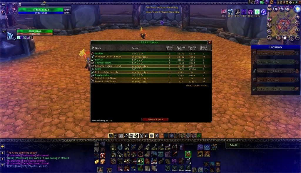 World of Warcraft 5v5pwnage