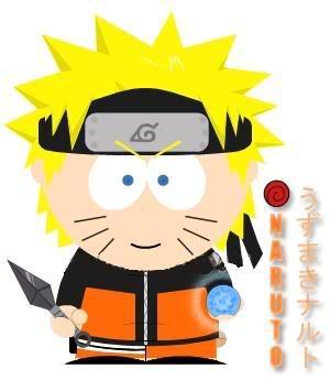 Personaje favorito de South park Uzumaki