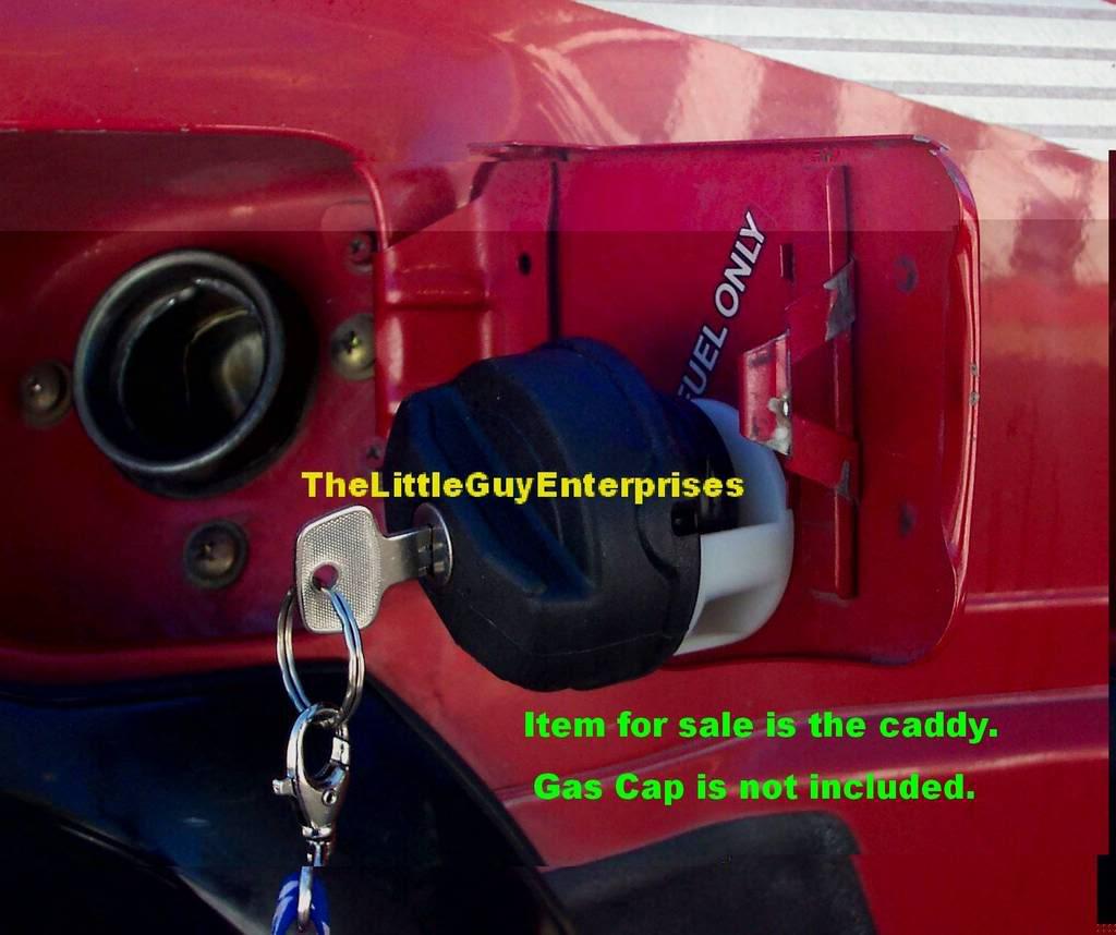 Кузов. Обустраиваем крышку горловины топливного бака. CaddyOnTruck