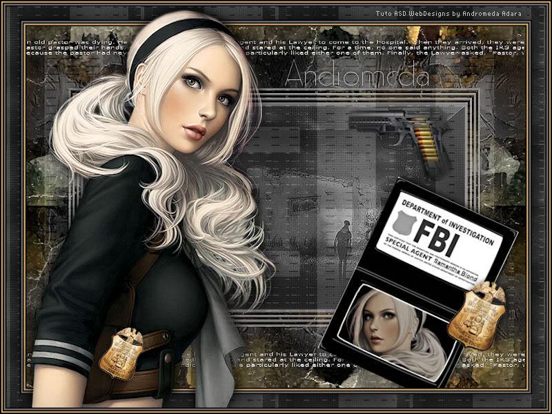 Special Agent Samantha Blond Tuto-SpecialAgentSamanthaBlond